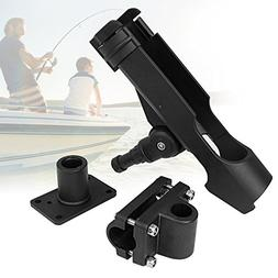 PLUSINNO Adjustable Powerlock Fishing Rod Holder with 4 Side