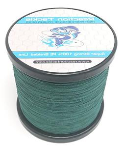 Reaction Tackle Moss Green 100LB 150yd