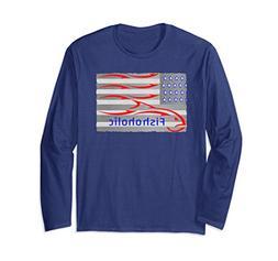 Unisex USA Flag Fishing Shirt symbolizes All Fish & All Atti