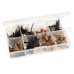 Wakeman 80-FSH5034 Fly Fishing Lures- 50Piece Natural Assort
