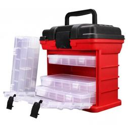 ABUO-26x15x25cm 4 Layer Portable Carp <font><b>Fishing</b></