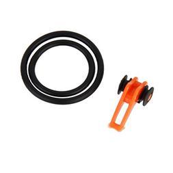 MagiDeal Adjustable Plastic Fishing Rod Pole Hook Keeper Lur