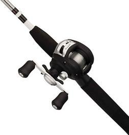 Shakespeare Alpha Medium 6 Low Profile Fishing Rod and Bait