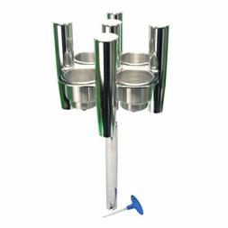 Amarine Made Angle Ajustable Stainless Steel Rod 5 Fishing R