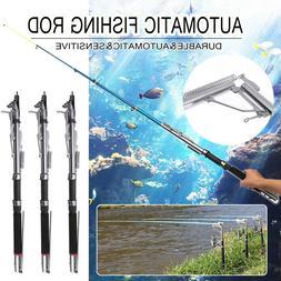 Automatic Telescopic Fishing Rod Sea River Lake Fishing Pole