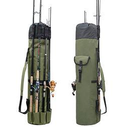 Fishing Bag Fishing Rod Reel Case Carrier Holder Fishing Pol
