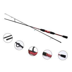 Baitcasting Rod or Spinning Fishing Pole  100% Carbon Medium