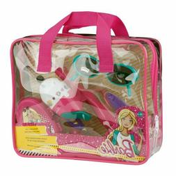 Shakespeare Barbie Youth Fishing Rod and Reel Combo Purse Ki