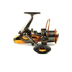 Big metal Spool Spinning Fishing Reels With 13+1BB 4.6:1 F