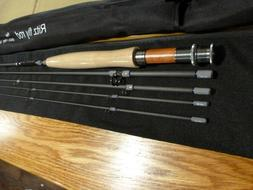Black River Fly Rod, New 9ft 4pc 5wt,2tips ,IM8 High Modulus