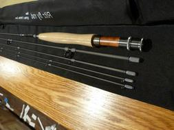 Black River Fly Rod, RITZ 7ft 9in 4pc 3wt,2tips ,IM8 High Mo