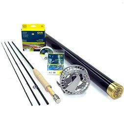 Winston Boron III LS Fly Rod 380-4 Fly Rod Outfit