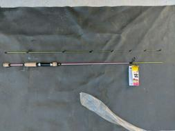 "BRAND NEW -Eagle Claw Fish Skins 2-Pc 6'6"" Spinning Rod - Ju"