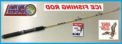 Eagle Claw Brave Eagle Ice Spinning Rod, 1 Piece