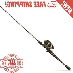 Zebco Bullet Spincasting IM8 Rod and Durable All-Metal Reel