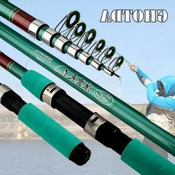 Carbon Fiber Hard FRP Telescopic Fishing Rod Fishing Hand Po