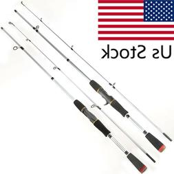 Carbon Fishing Rod Spinning Casting Lure Rod Saltwater Fresh
