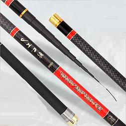 carbon long section fishing rod