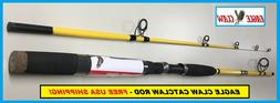 Eagle Claw Catclaw Spin Rod 7'Mh 2Pc