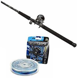 Abu Garcia Catfish Commando Fishing Rod and Reel Cast Combo