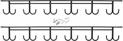 Ceiling Rod Rack for Fishing Poles and Fishing Rods Indoor a