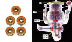 Okuma Ceramic Super Tune AVENGER BAITFEEDER ABF-50, ABF-55B