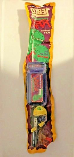 Zebco Child Fishing Rod Fishasaurus Rex Kit 1988 Reel Tackle