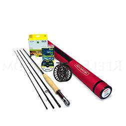 Redington Classic Trout 376-4 Fly Rod Outfit