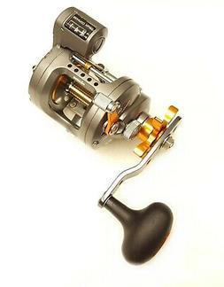 Okuma Cold Water Linecounter Reel, 2+1 Ball Bearings, 5.1:1,