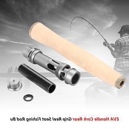 Cork Handle Split Rear Grip Reel Seat Fish Fishing Rod Build