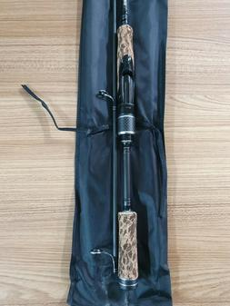 "SHIMANO Cranx Nano 7'6"" 1-4KG Spin Fishing Rod + Mesh Case +"