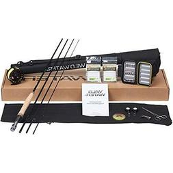 Wild Water Deluxe 5/6 9' Rod Fly Fishing Complete Starter