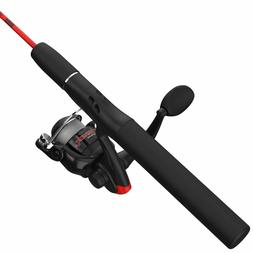 Zebco Dock Demon Spinning Reel and Fishing Rod Combo kid's f