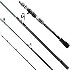 Entsport Dominate 4-Piece Casting and Spinning Fishing Rod P