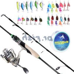 Dr.Fish Ultra Light Fishing Rod Reel Combos Spinning Fishing