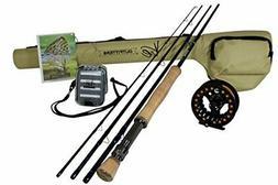 Drift Series 8wt Fly Fishing Rod & Reel Combo w/ Fly Line &