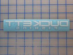 "Duckett Sticker Decal 7.5"" 11"" Fishing Rods Bass Micro Magic"