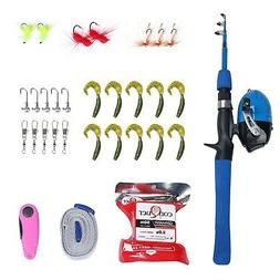 Entsport E Series - Kids Fishing Rod and Reel Combo Portable