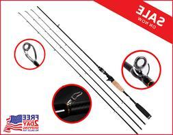 Entsport E Series - Rattlesnake 2-Piece 7-Feet Casting Rod w
