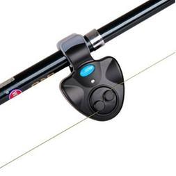 Electronic Fishing Rod LED Light Bell Clip Fish Bite Alarm T