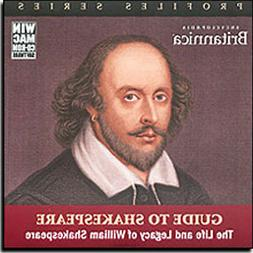 Encyclopedia Britannica Guide to Shakespeare  The Life and L