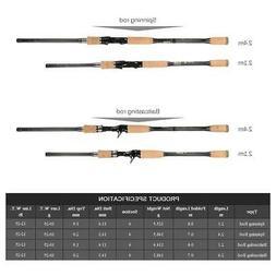 Fast Baitcasting Spinning Fishing Rod Medium Rod Fishing Lur