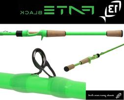 "13 Fishing Fate Black Gen 2 Casting Rod 6'7"" Medium FTB2C67M"