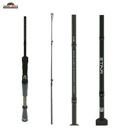 13 FISHING FATE CHROME  CASTING ROD 6 foot 7 inch length Med