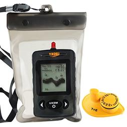 Lucky FFW-718 Portable Fish Finder Locator 45m Depth 120m Wi