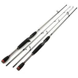 1.8M Fiber Fishing Rod Freshwater Spinning Lure Rod Travel S