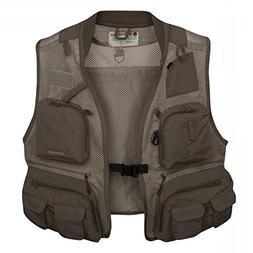 Redington First Run Fishing Vest, Grit, XX-Large/3X-Large