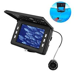 "DOOLST Fish Finder Underwater Fishing Camera 3.5"" Inch LCD 1"