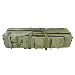 Lixada Outdoor 3 Layer Fishing Bag Backpack 80cm/100cm Fishi