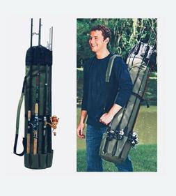 Fishing Bag Rod Case Portable Multifunction Nylon Storage Tw